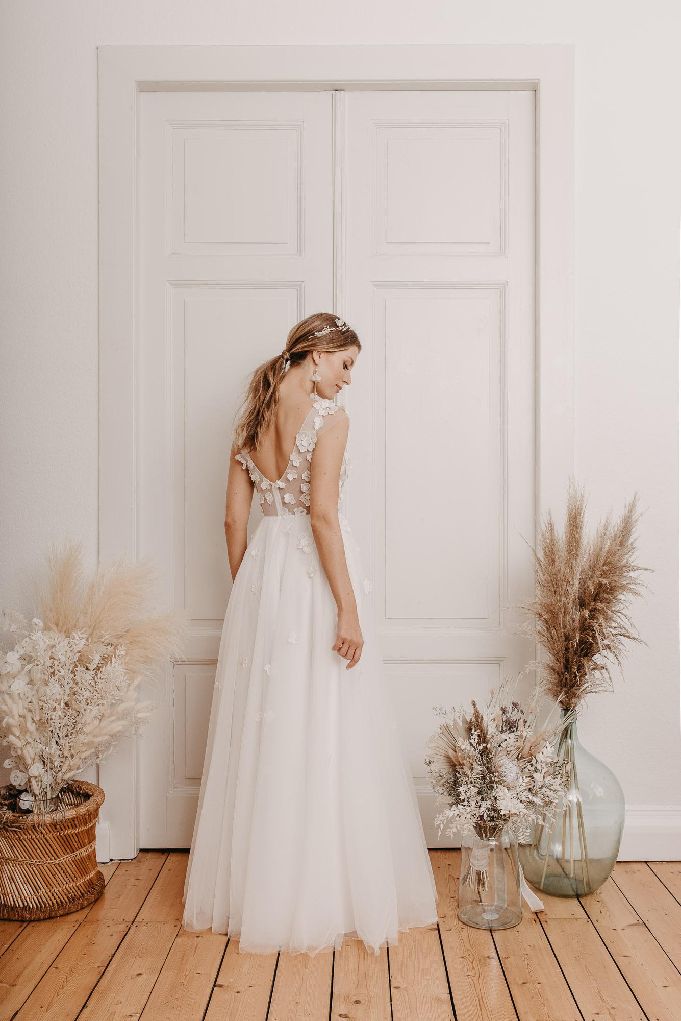 Lovage Brautkleid Hinten - Brautmode von Oonce