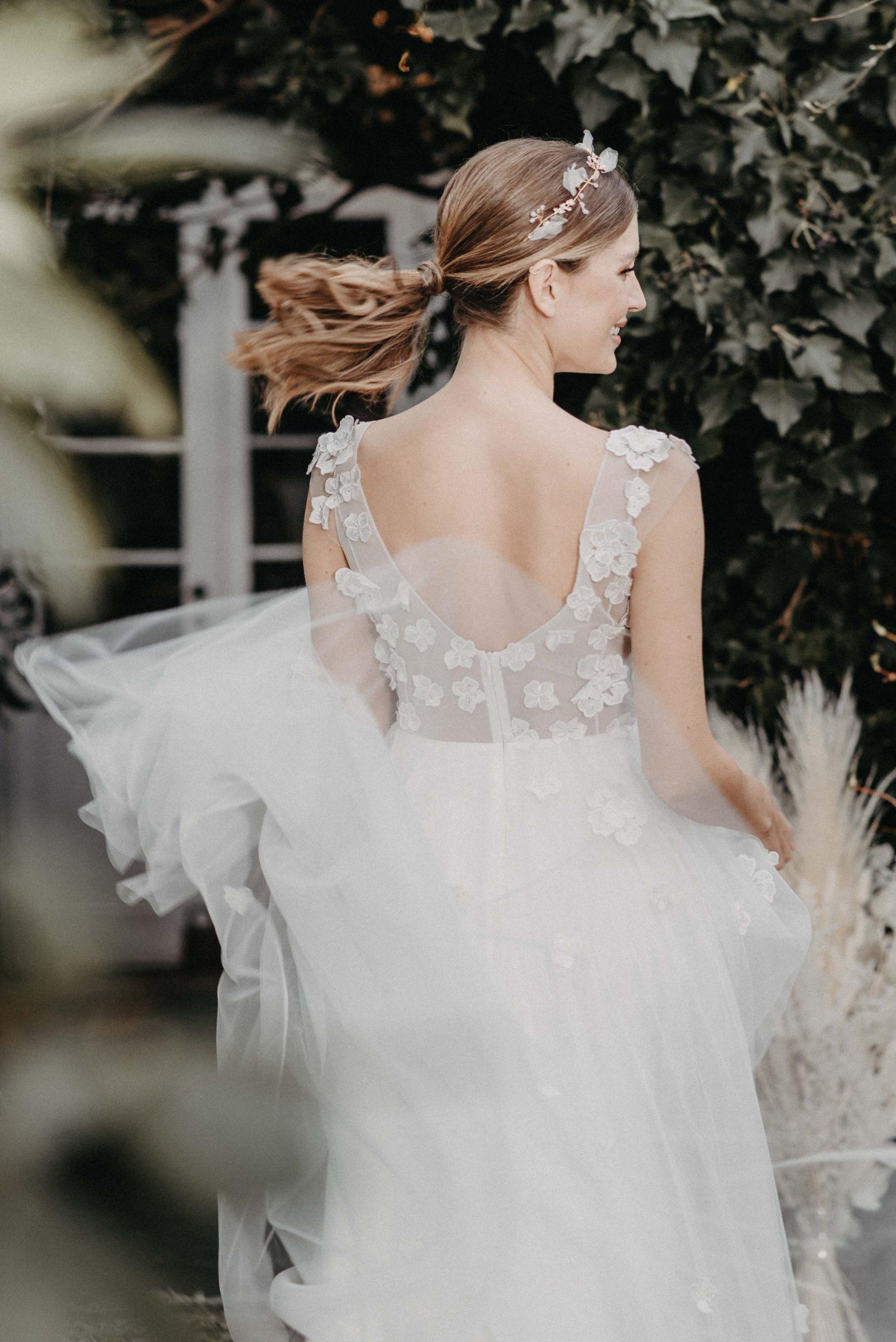 Lovage Brautkleid Hinten von Oonce