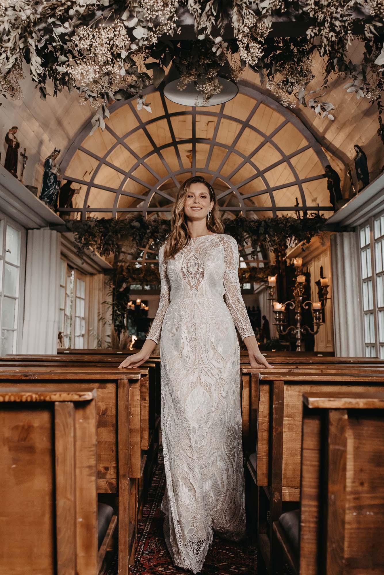 Laurel Brautkleid Vorne - Brautmode von Oonce