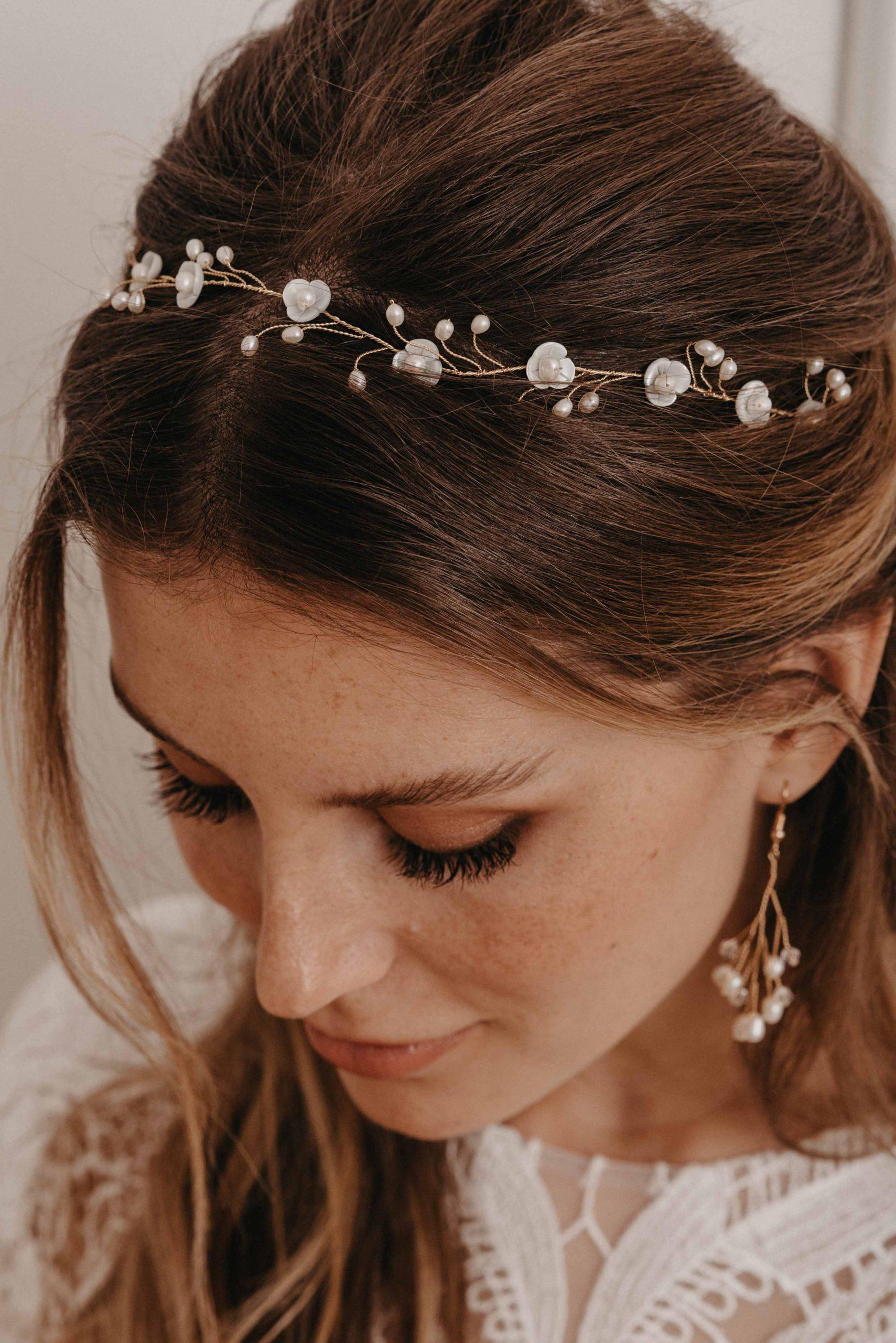 Blossom Haarband - Brautschmuck von Oonce