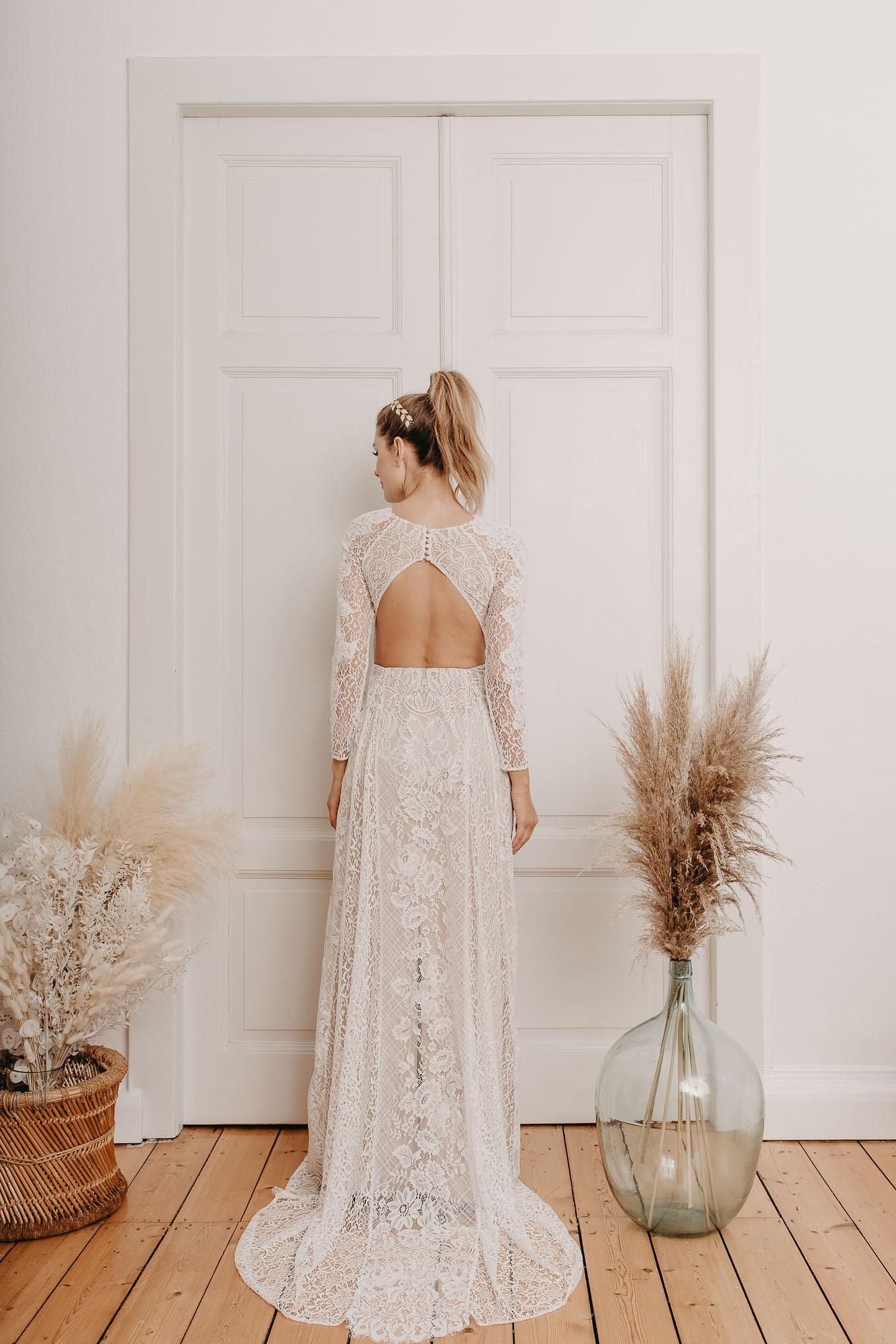 Rose Brautkleid Hinten von Oonce