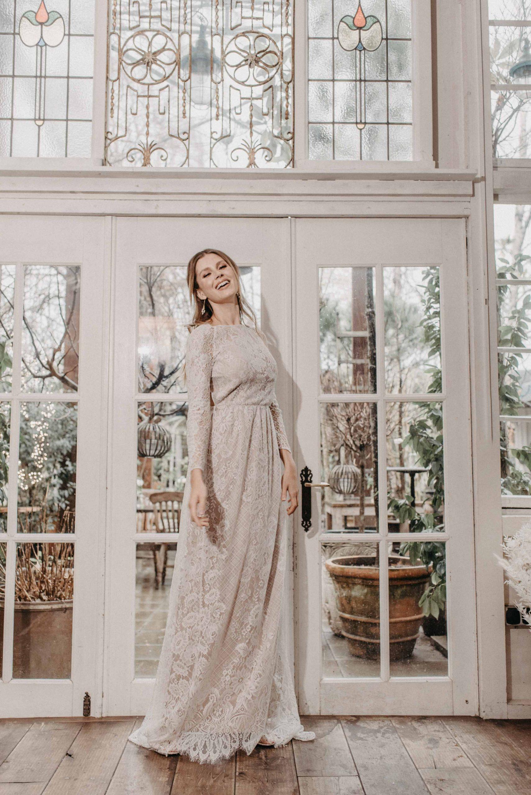 Rose Brautkleid Vorne von Oonce