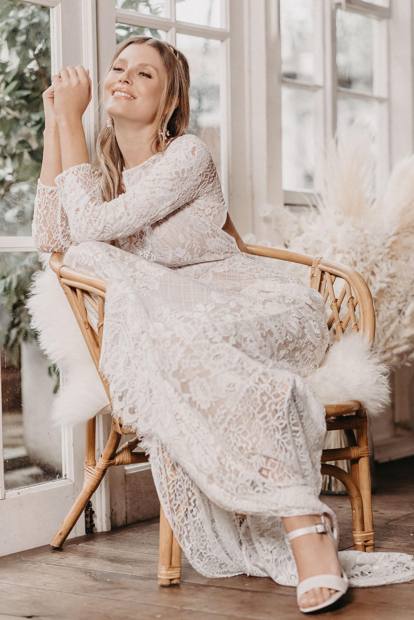 Rose Brautkleid von Oonce